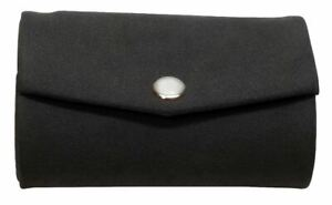 Speert Suede Mirror Double Lipstick Holder Pouch Snap Closure Grey or Tan Brown