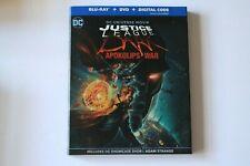 New listing Justice League Dark: Apokolips War (Blu-ray + Dvd + Digital Combo Pack)