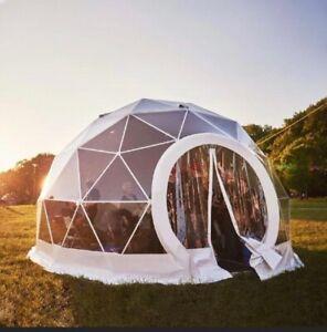 HD Transparent Geodesic Dome Kits