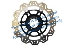 FIT HONDA VFR 800 FiW/FiX 98>99 EBC VR Disc Black Centre Hub/SOLID Front Left