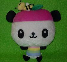"Sanrio Vintage 2008 PANDAPPLE 13"" Plush Hello Kitty And Friend Panda Apple Rare"