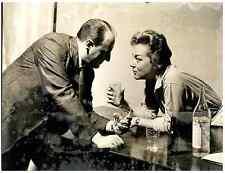 Italia, RAI, Giorgio Piamonti e Anna Maria Alegiani  .  Tirage argentique