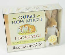Guess How Much I Love You by Sam McBratney - Deluxe Book & Toy Gift Set