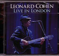 2 CD (NEU!) LEONARD COHEN live in London 2008 (Hallelujah Suzanne Marianne mkmbh