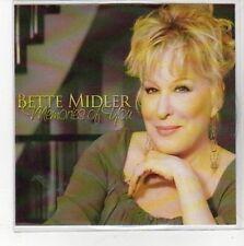 (CC724) Bette Midler, Memories of You - DJ CD