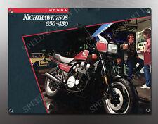VINTAGE HONDA NIGHTHAWK 750S,650,450 IMAGE BANNER NOS IMAGE REPRODUCTION