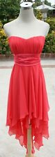 NWT WINDSOR $80 Dark Coral Cocktail Party Dance Dress 9