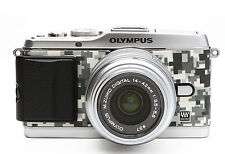 Camera Leather decoration sticker for Olympus E-P3 DIGITAL URBAN CAMOUFLAGE