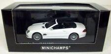 Véhicules miniatures blancs en acier embouti pour Mercedes