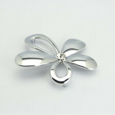 4Pcs Cc 64mm Modern Flower Drawer Handle Pull Chrome Kitchen Cabinet knobs