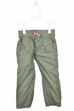 Circo Girls Pants Khakis 3T Green Cotton