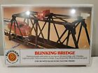 HO Train Blinking Bridge Over/Under Bachman HO Scale Train Bridge 46221 Sealed
