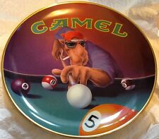 Camel Joe Collectible Pool Player Plate Limited Edition New in Box MINT VINTAGE