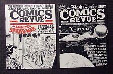1995 COMICS REVUE Magazine #116 118 FN/FN+ LOT of 2 Flash Gordon - Spider-Man