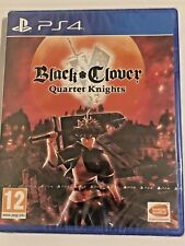 BLACK CLOVER QUARTER KNIGHTS - PS4 UK GAME NEW SEALED *FREE UK POST*