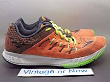 Men's Nike Zoom Elite 8 Total Orange Black Ghost Green Running 748588-803 sz 9