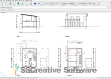 3D CAD TECHNICAL DRAWING DESIGN SOFTWARE DXF STUDIO CD FOR WINDOWS MAC