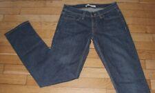 LEVIS 524 Jeans pour Femme W 29 - L 32 Taille Fr 38  TOO SUPERLOW (Réf #A193)