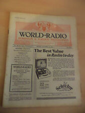 OLD VINTAGE WORLD RADIO TIMES 1930s MAGAZINE 24 OCT 1930 BBC foreign programme