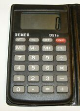 Vintage Texet B51B Small Handheld Calculator