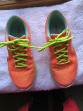 Asics 33 Fluid Axis Neon Orange Running Shoes Size 9.5 Gel Electro 33 AR