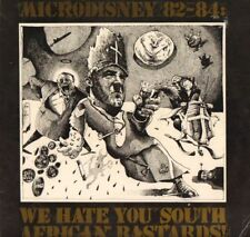 Microdisney(Vinyl LP)82-84: We Hate You South African Bastards!-Rough T-G+/VG