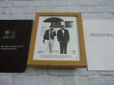Framed Lobby card Press kit & Promo Photo AWAKENINGS ROBIN WILLIAMS DE NIRO