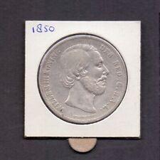 Nederland Willem III rijksdaalder 1850 - 2 1/2 gulden zeer fraai, zie scan