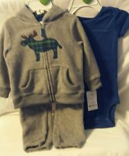 Carter's Baby Clothes: Boy - 3 pc set - 12 months - NWT