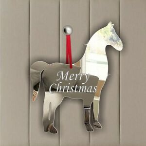 Personalised Hanging Decoration Birthday Wedding Memorial Party Gift HORSE