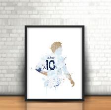 Harry Kane - Football Art Print Design England Footballer Number 10