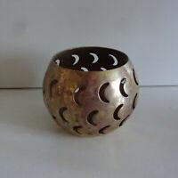 Teelichthalter Kerzenhalter aus Messing