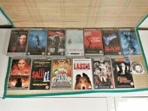 Sony PSP - 14 x UMD Video / Movie Bundle - Horror - Resident Evil - Saw