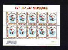 Nederland NVPH 2777 Vel Decemberzegels Snoopy 2010 Postfris