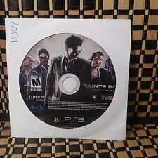 Saints Row: The Third (Sony PlayStation 3, 2011) USED (DISC ONLY) #10307