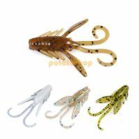 1.5″ Craw Baby Fishing Soft Plastic Bait 24pcs Crawfish Lure Crappie Perch Jig