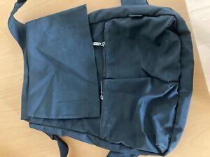 Danenrucksack schwarz, Marke: Turnover, Nylon?, ca. 30x40 cm, genutzt