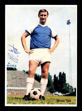 Werner ipta Autograph Card Hertha BSC Berlin player 60er Years Original Sign