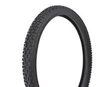 "Pair of Tire  Duro 22"" x 1.75"" Black/Black Side Wall HF-101A"