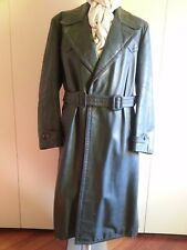 WERMACHT WWII STYLE LEATHER COAT