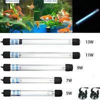 Aquarium Submersible UV Light Sterilizer Pond Fish Tank Germicidal Clean Lamp