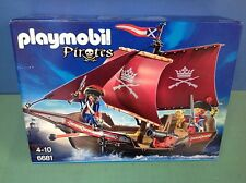 (O6681) playmobil Petit bateau pirates ref 6681 en boite complet