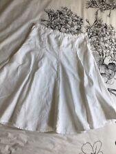 Fat Face Linen & Cotton Canvas Skirt 12