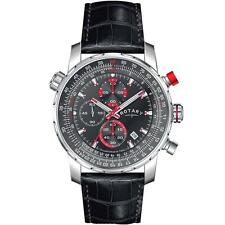 Rotary GS03641/04/L Men's Stainless Steel Chronograph Leather Watch RRP £139