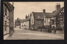 Repton, High Street - near Burton on Trent - printed postcard