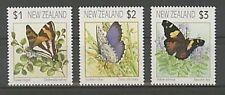 Postfrische Briefmarken aus Neuseeland mit Schmetterlings-Motiv