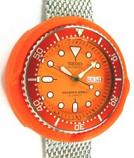 Seiko Diver's Custom Automatic Mens Watch SKX011J1 TUNA A L'ORANGE - NEW