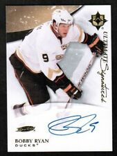 2010-11 Ultimate Collection Ultimate Signatures #USBR Bobby Ryan Auto (ref 8126)