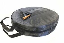 """Dannan 18"""" or 16"""" Bodhran Carry Bag Case with Pocket for Beater"""