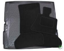 BMW X5 E70 2006-2012  Tailored black floor car mats + boot tray mat